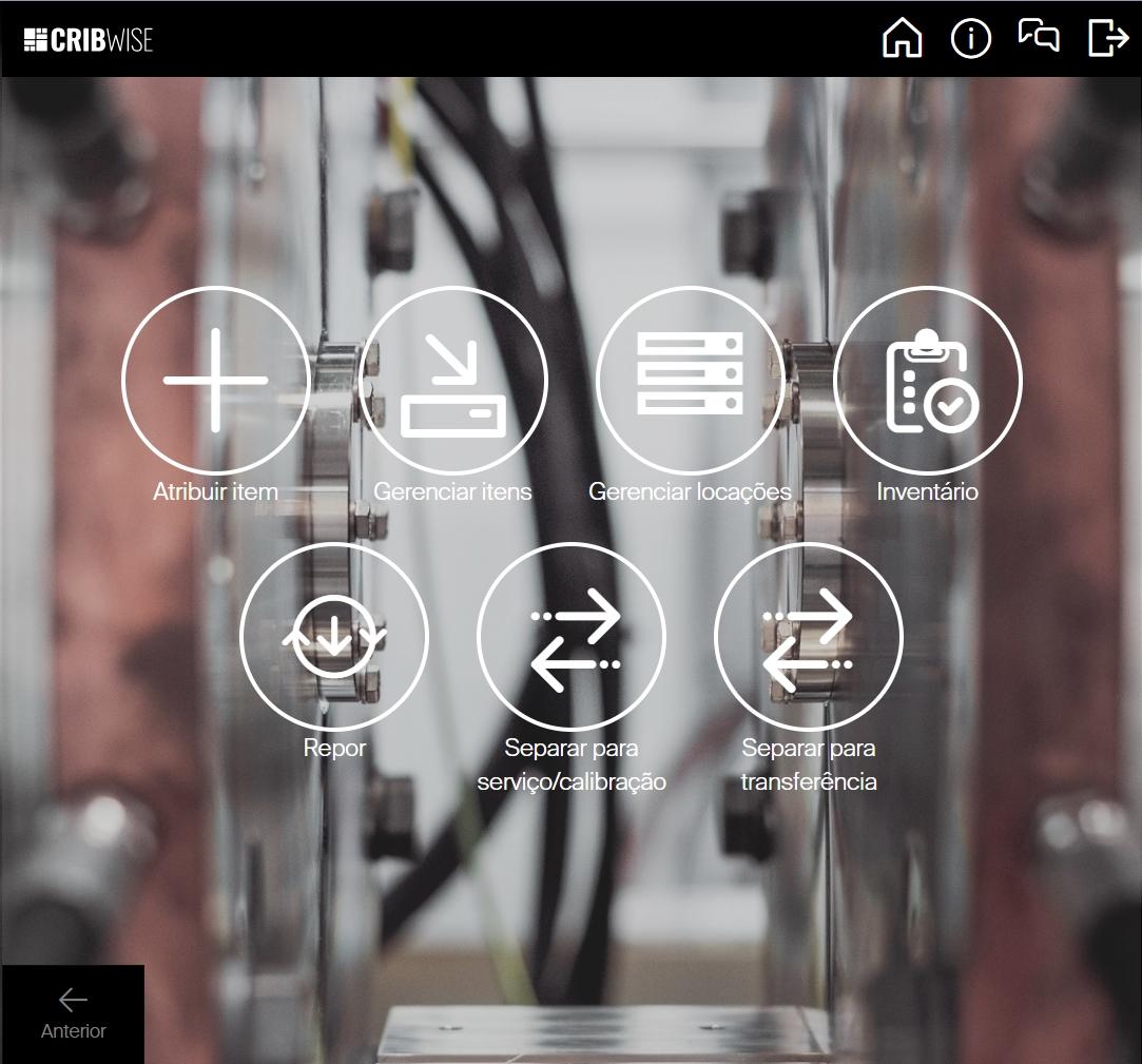 Cadastro de itens - Informações gerais